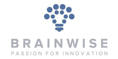 Il logo di BrainWise per la pagina interna al portfolio.