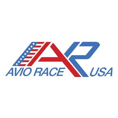 Il logo di Aviorace USA per il portfolio.