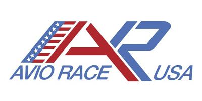 Il logo di Aviorace USA per la pagina interna al portfolio.