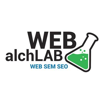 Il logo di Web AlchLab per il portfolio.